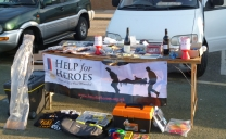 Help for Heroes Match Raises £380