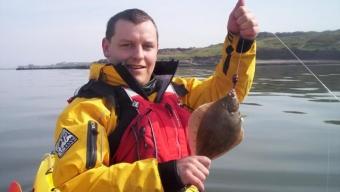 Kayak plaice fishing – Heysham