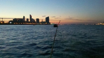 Dinghy Fishing for Cod – River Mersey