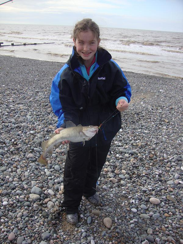 Winter Cod fishing at Rossall